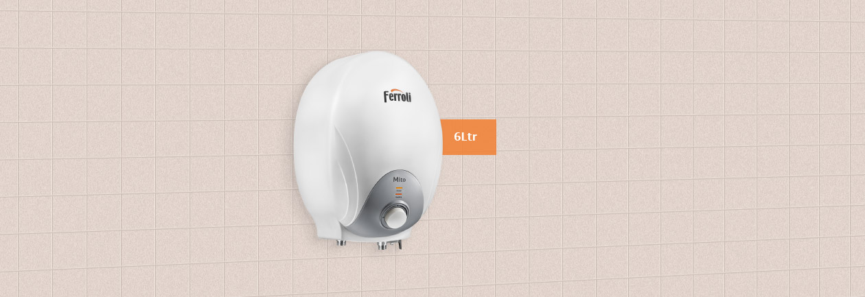 Instant Electric Water Heater From Ferroli Mito 6